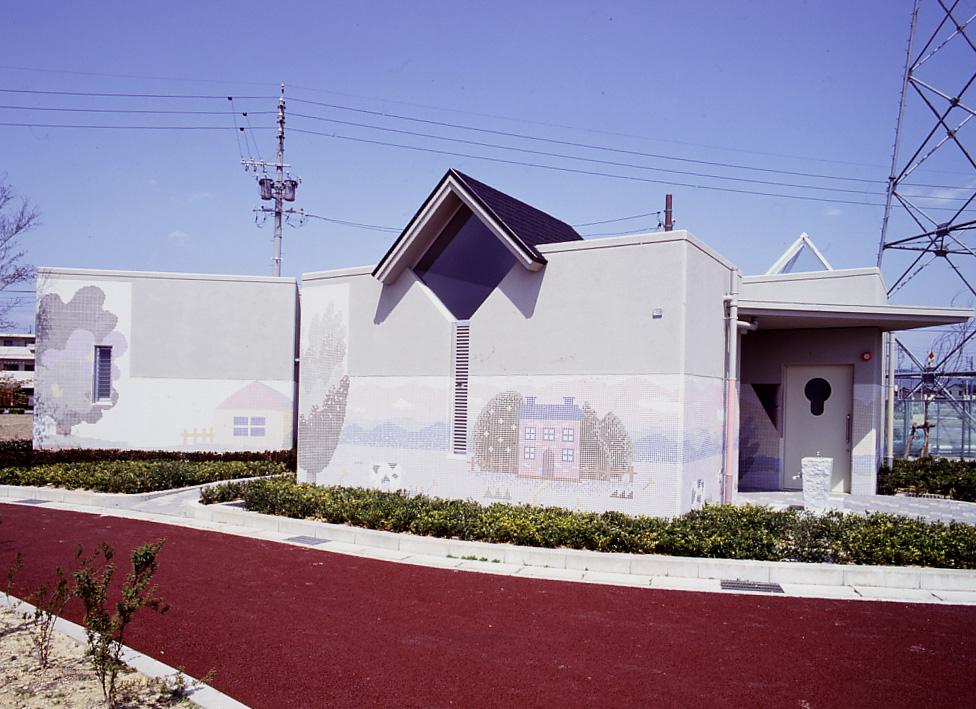 岐阜市島南公園トイレ