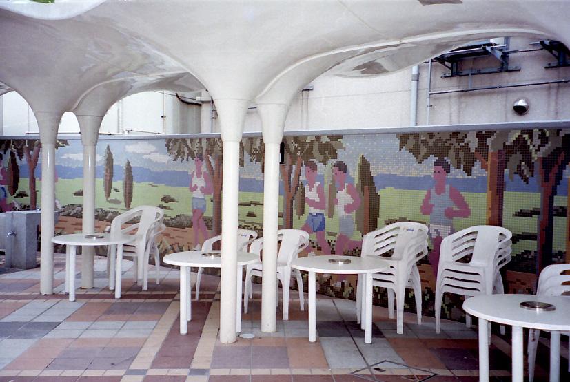 アルテモザイコ20m角アート施工例